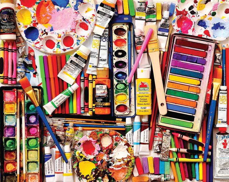 Art Supplies Picture