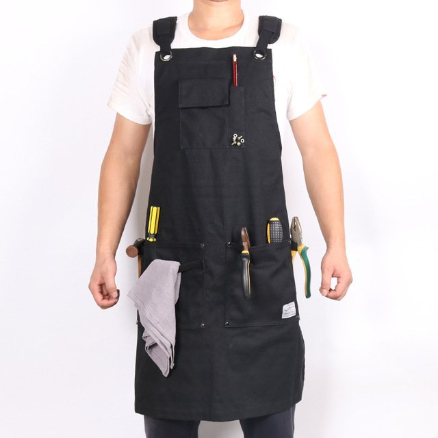 WEEYI-Heavy-Duty-Black-Waxed-Canvas-Workshop-Apron-Men-with-Pockets-Cross-Back-Strap-for-Woodworker.jpg_640x640