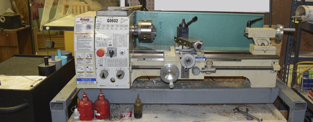 G0602 Girzzly Metal Lathe